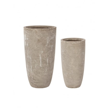 CONJUNTO DE 2 VASOS CEMENT BIZZOTTO 0790565