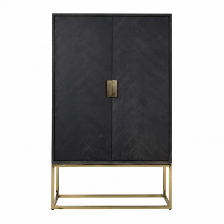 ARMÁRIO 2 PORTAS BLACKBONE RICHMOND INTERIORS 7437